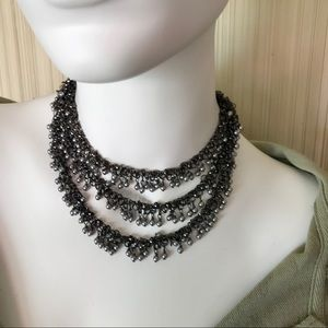 "48"" Chain with seed ""pearls""."